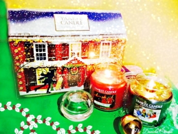 Yankee Candle, Advent House in the Snow e candele Bundle Up e Cosy by the fire [REVIEW]