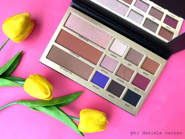 Makeup Revolution Maxineczka Beauty Legacy, swatches della palette [REVIEW]