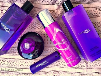 Arrogance Passion, Gel Doccia, Eau De Parfum, Body Lotion e Deo Spray [REVIEW]